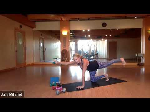 60 Min Yoga Sculpt With Julie Mitchell