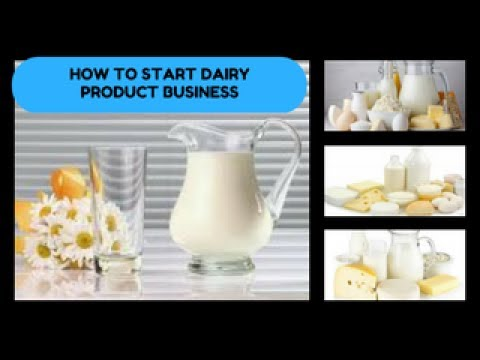 Start Dairy Product Business