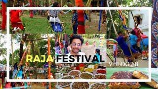 vBlog #8 | Raja Festival of Odisha Celebration 2018 | Raja Parba | Doli and Pitha | ରଜ ପର୍ବ