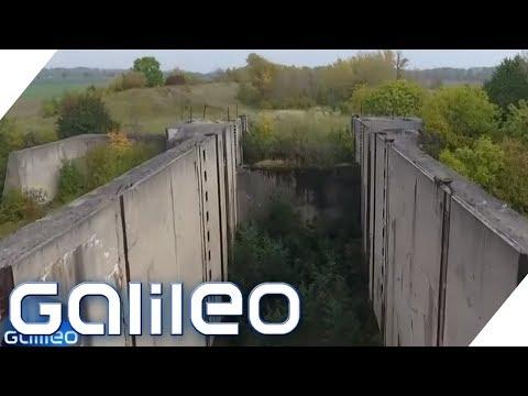 Die Schleusenruine von Wüsteneutzsch   Galileo   ProSieben