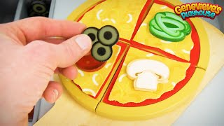 Kid's,  Let's Make a Toy Pizza for the Paw Patrol and Play with a Car Puzzle!