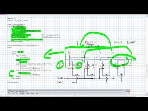 Shift Registers in VHDL