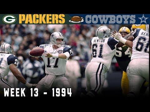 Jason Garrett's Remarkable Thanksgiving Day! (Packers vs. Cowboys, 1994)