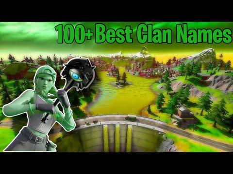 100+ Best Clan Names *UNTAKEN*(2020)