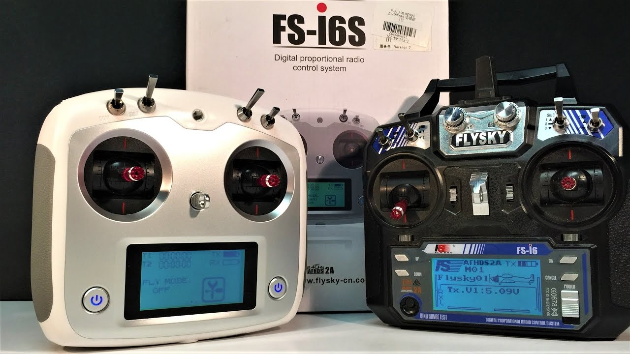 Part 1 Flysky FS - i6S transmitter