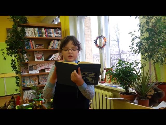 Изображение предпросмотра прочтения – ОлесяКарапиш читает произведение «Майский дождь» В.Я.Брюсова