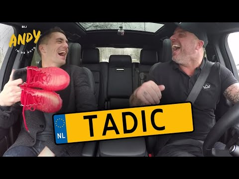 Dusan Tadic - Bij Andy in de auto