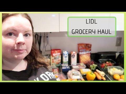LIDL GROCERY HAUL    IRISH GROCERY HAUL CHALLENGE