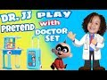 Play Pretend Doctor with Toy doctor set! Pretend Play Doctor with JACK JACK