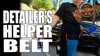 Detailer's Helper Tool Belt Review - Masterson's Car Care
