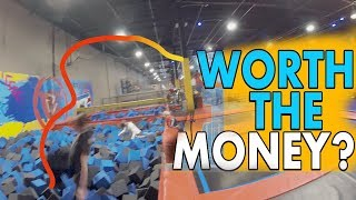 Urban Air Trampoline Adventure Park | Review | Is it worth the cost | Oxford Michigan
