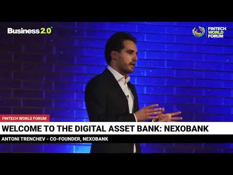 Nexo at The Fintech World Forum - London 2018