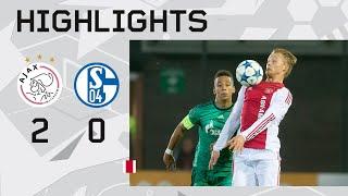 Highlights Ajax A1 - Schalke 04 (Youth League)