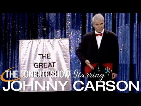 Steve Martin's Great Flydini Amazing Magic Tricks on Johnny Carson's Tonight  1992