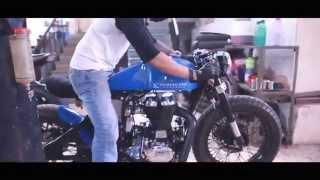 Rajputana Customs - Numero Uno Cafe Racer