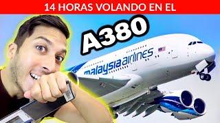 14 HORAS en EL AVIÓN MÁS GRANDE DEL MUNDO! A380 😱| Alex Tienda ✈️