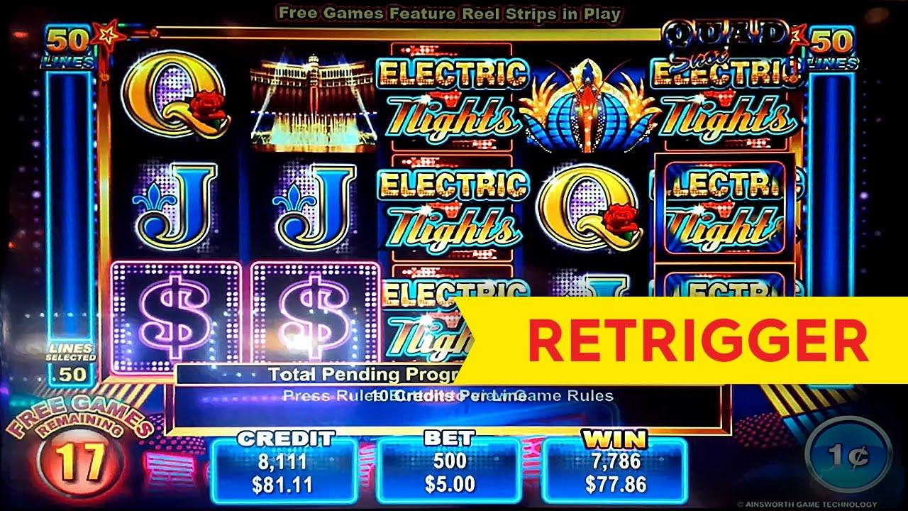 Quad progressive slot machine