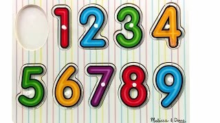 Aprender os Números | Como Ensinar Os Números Para as Crianças | Aprendendo a Contar
