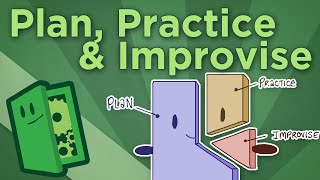 Extra Credits - Plan, Practice, Improvise - Understanding the Three Types of Play in Games