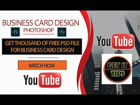 Get Free Thousand of Business card PSD file ।। Business Card Design ।। photoshop