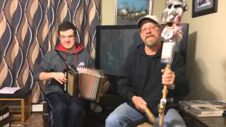 Off She Goes / Boys In The Bunk House - Accordion