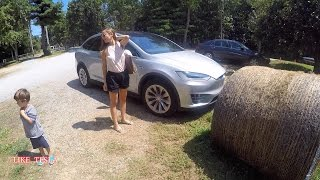 Model X Goes Mile High: Road Trip Part 1 of 2
