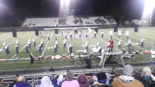 Shikellamy Marching Braves...Shamokin 10/13/12