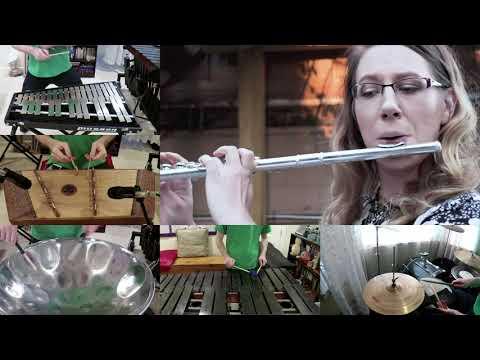 LittleBigPlanet - Interactive Gardens - Percussion Cover Feat. Tamara Deichert