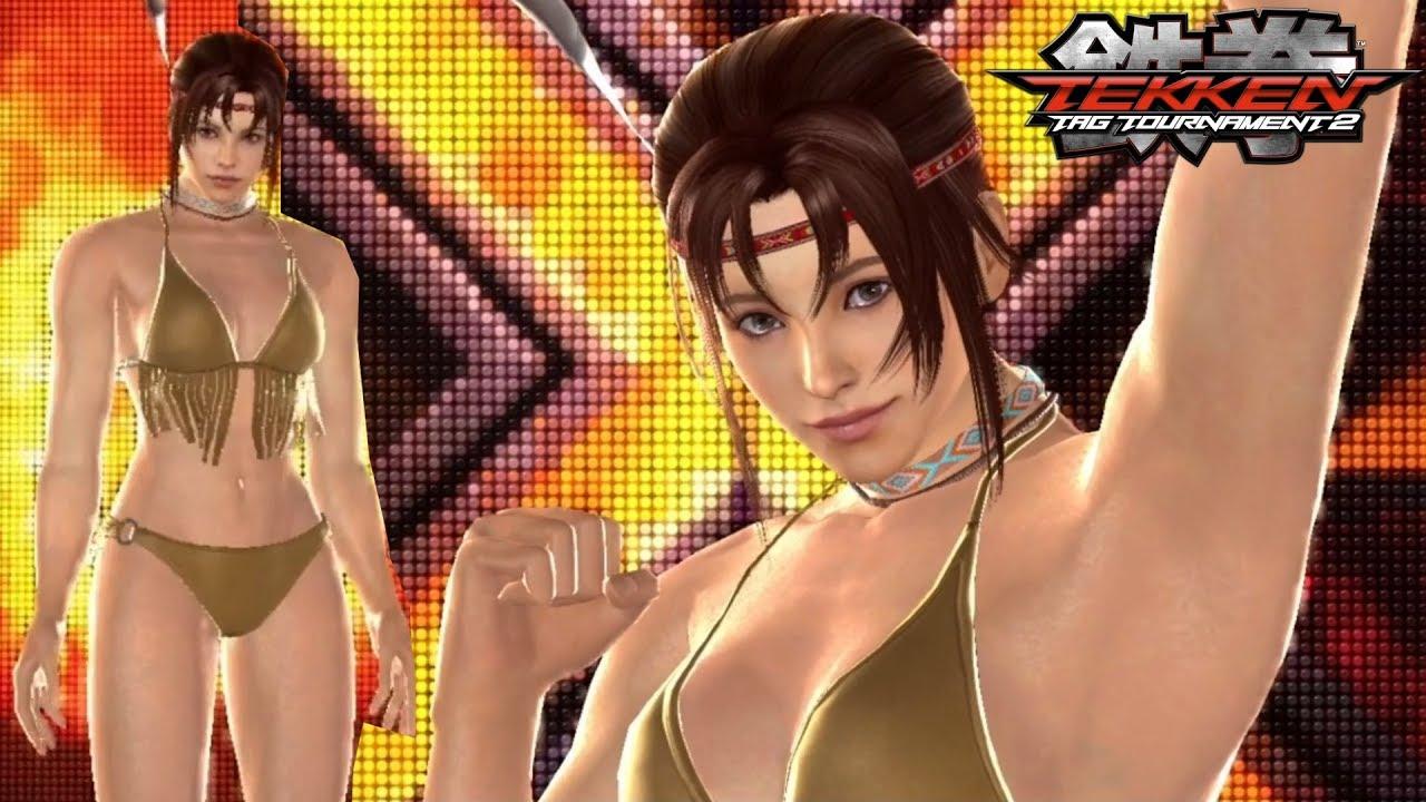 "road to tekken 7 | tekken tag tournament 2 - ""bikini"" michelle chang"