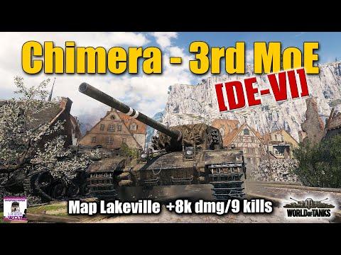 Chimera, [DE-VI], 3rd Gun Mark game with sad but good ending, best World of Tanks replays
