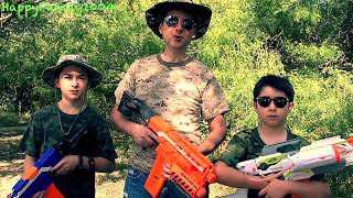 Nerf War Episodes 1-5