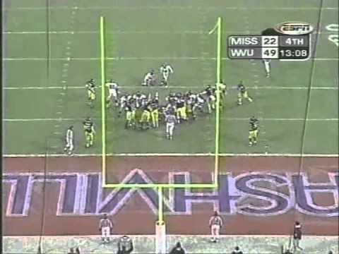 2000 Music City Bowl West Virginia vs  Mississippi 2nd Half