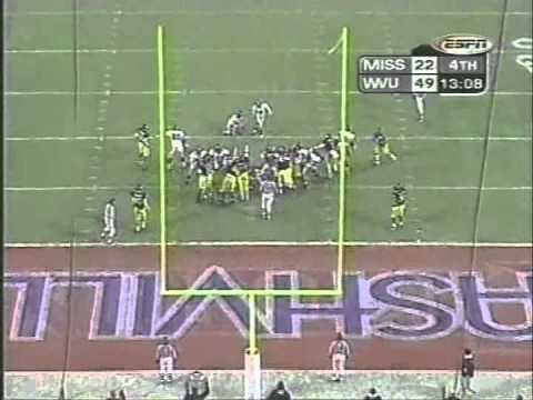 2000 Music City Bowl West Virginia vs  Mississippi 2nd Half