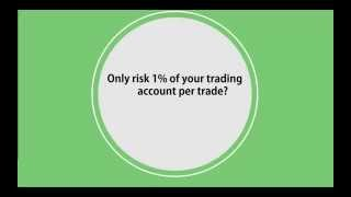 Forex Strategy - Only Risk 1%? why?
