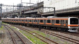 2020/06/24 【大宮出場】 209系 M72編成 大宮駅   JR East: 209 Series M72 Set after Inspection at Omiya