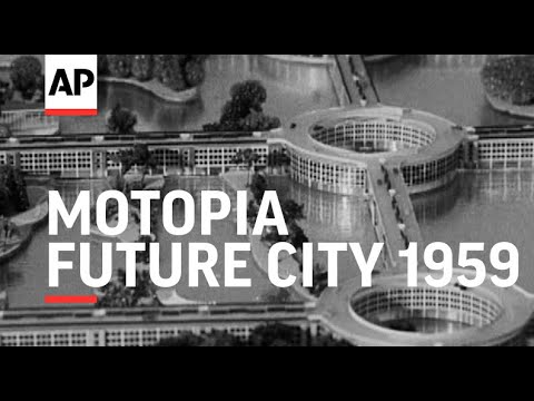 Motopia - City of the Future! A Utopia for motorists...