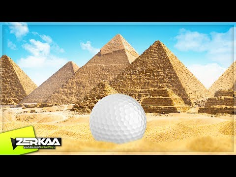 REAL GOLF IN THE DESERT! (Golf It)