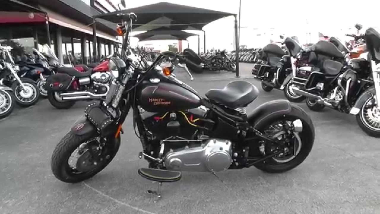 Motorcycles For Sale In Texas ... DAVIDSON SOFTAIL CROSSBONES - Used Motorcycle For Sale - YouTube