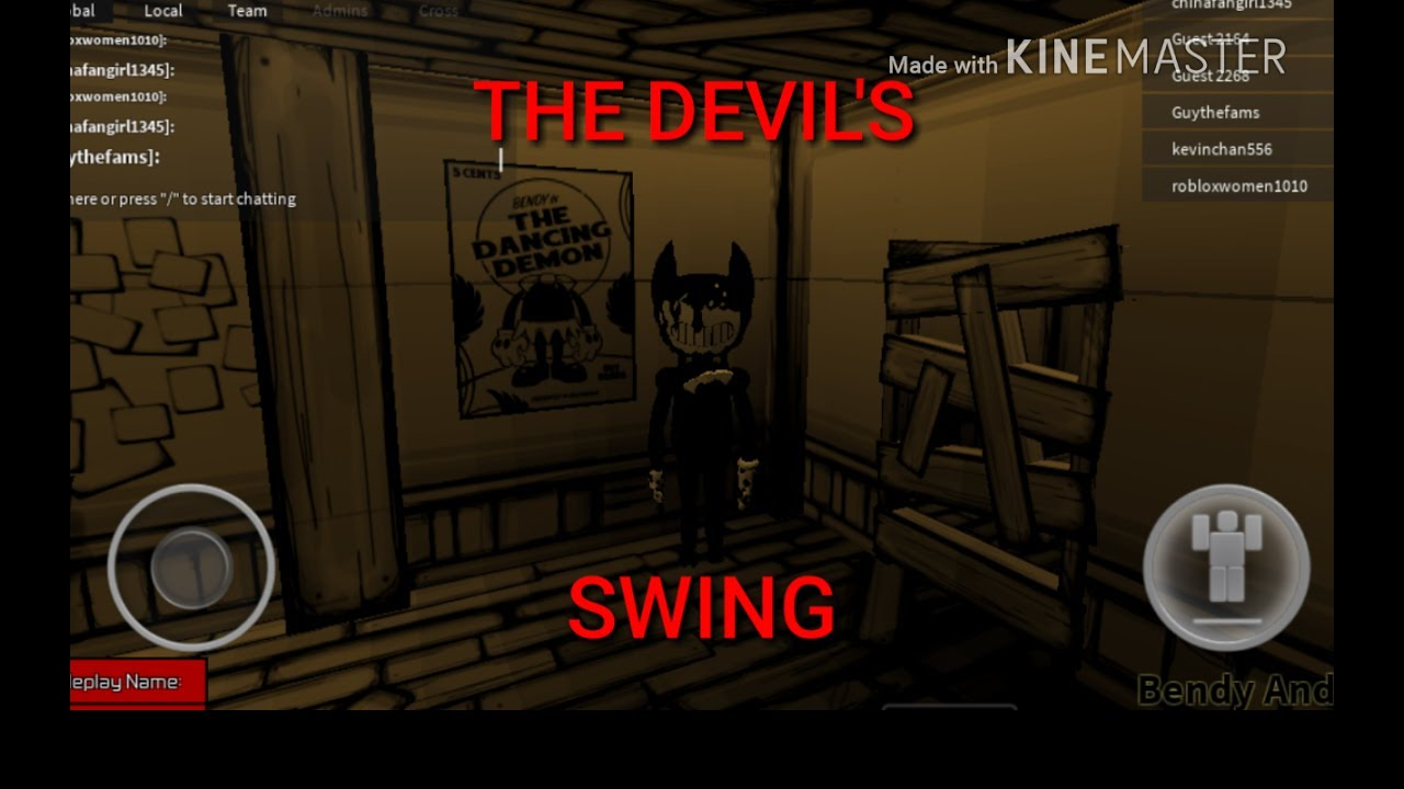 Roblox Animation Bendy And The Ink Machine Devil S Swing By
