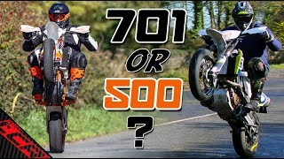 Which Supermoto Should You Buy 701 or 500 EXC? | Pros & Cons