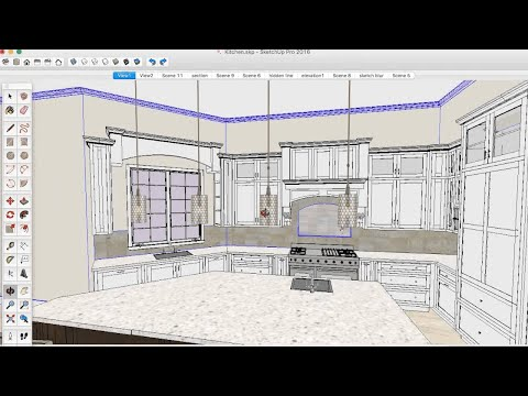 3D Basecamp 2016 – Lighting Design using SketchUp