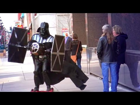 Star Wars: Rogue One in REAL LIFE Prank!