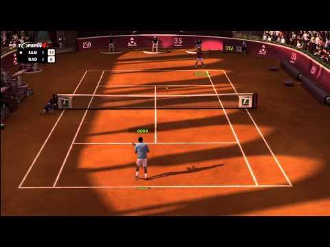 Top Spin 4 - Pete Sampras vs. Rafael Nadal