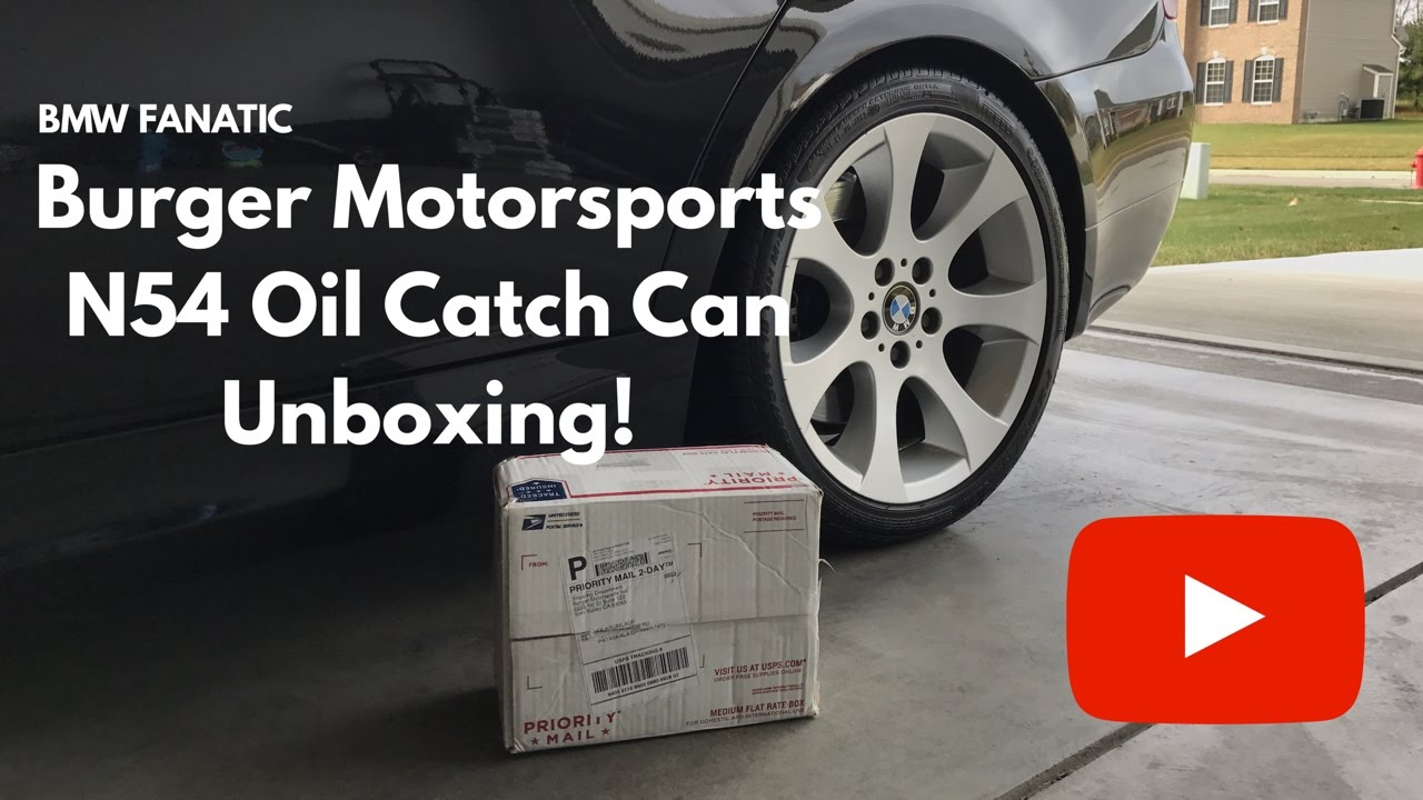 Burger Motorsports N54 Oil Catch Can Product Unboxing! 4K