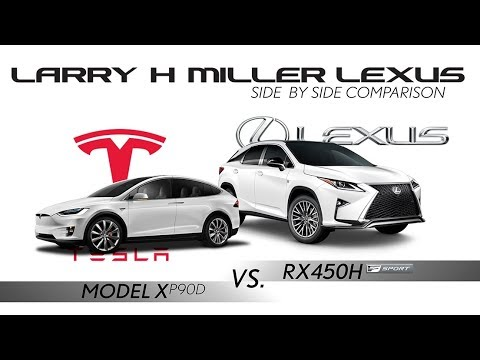 Dealership Pitches Self-Charging Lexus RX 450H Over Tesla