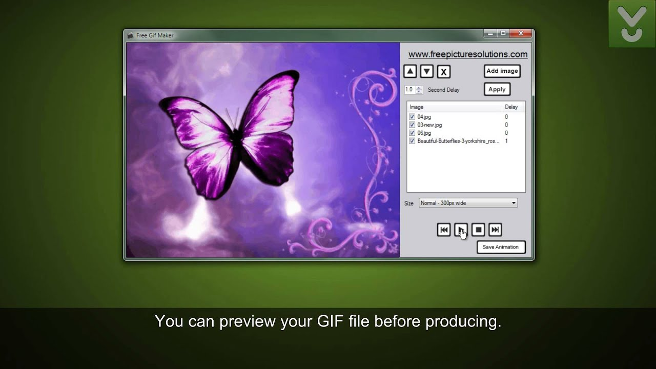 Free gif maker create amazing gifs download video previews youtube negle Gallery
