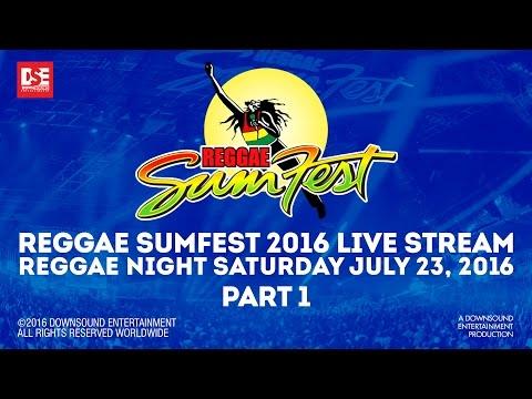 REGGAE SUMFEST 2016 REGGAE NIGHT PART 1 OF 4