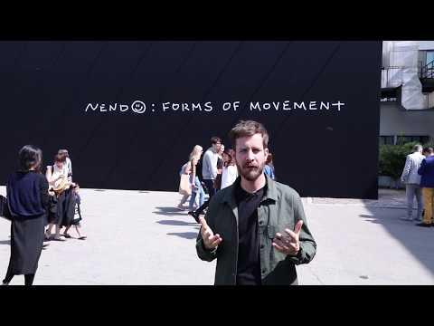 Milan 2018 - Nendo : Forms of Movement