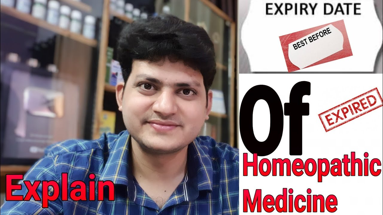 Expiry Date of Homeopathic Medicine ? Myth !