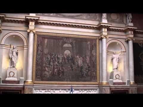 Le palais Bourbon, l'Assemblée nationale Paris vidéo N°2 sur 2